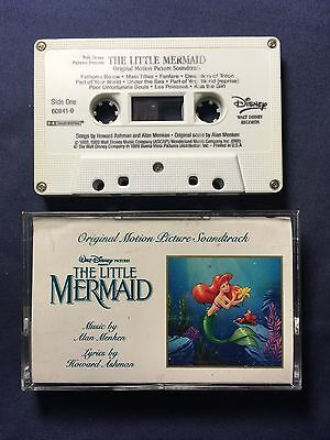 Walt Disney The Little Mermaid Cassette Tape From 1989