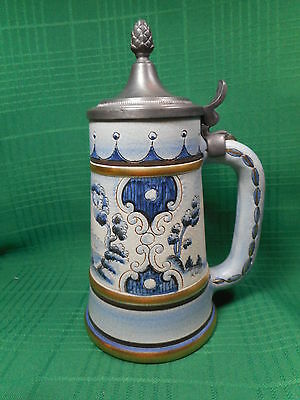 Veneto Flair Lidded Stein Italy 1976   954/3000