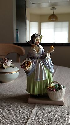 "Royal Doulton ""Spring Flowers"" Figurine - EXCELLENT CONDITION"