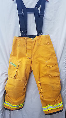 GLOBE Cairns REAXTION FireFighter Pants w/suspenders 38x30