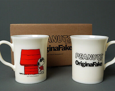 OriginalFake x Peanuts JOE KAWS Mug Set Cup