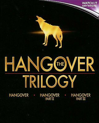 THE HANGOVER TRILOGY * Digital HD Ultraviolet Code ONLY *
