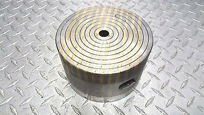 "6"" round magnetic chuck edm surface grinder mill etc"