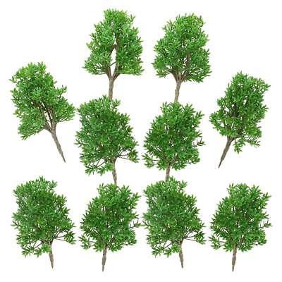 6pcs Plastic 1:60 Scale DIY Model Trees for Layout Scenery Diorama Wargame