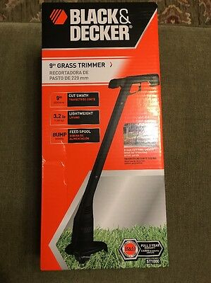Black And Decker Grass Trimmer