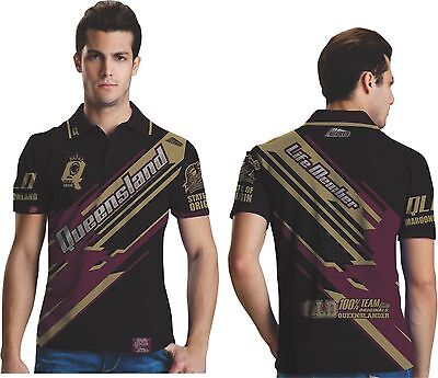 State of origin Qld Maroons Polo shirt