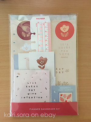Kikki K Write Your Tomorrow Sticker Planner Dashboard Kit (Large)
