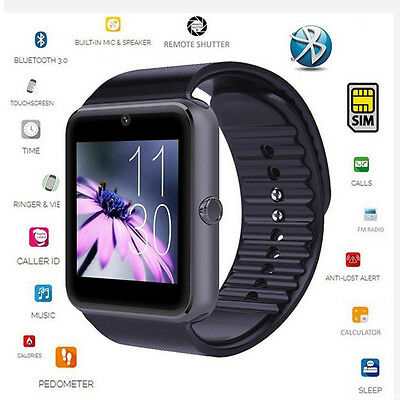 DZ09 Bluetooth Wrist Smart Watch Touch Screen Phone Mate for Android IOS New lot