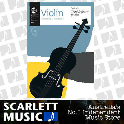 AMEB Violin Series 9 Grade 3 to Grade 4 ( Third / Fourth ) Recording & Handbook