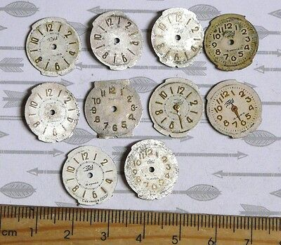 Steampunk Watch Parts Watch Faces Assorted 18x16mm Oval x10PC PK125