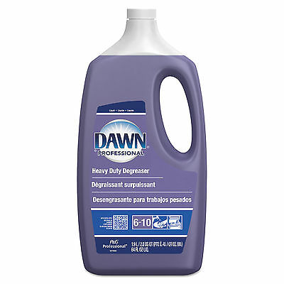 Dawn Professional Heavy-Duty Degreaser, Pine Scent, 2qt Bottle, 5 Bottles/Carto