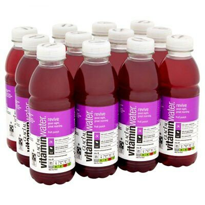 Glaceau Revive Vitamin Water 12x500ml