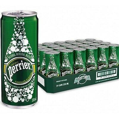 Perrier Sparkling Water 330ml x 24