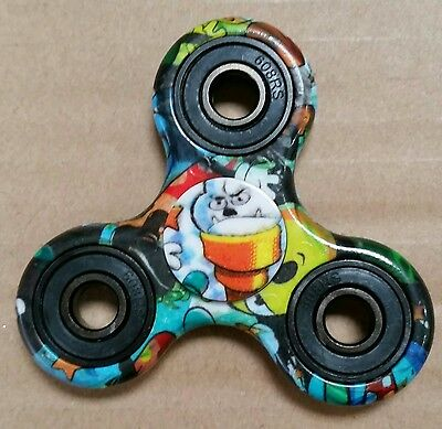 3D Fidget Hand Spinner Finger Toys EDC Focus Stress Reliever For Kids Adults