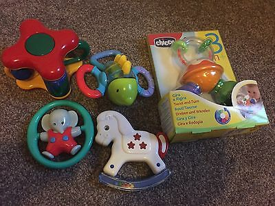 Bundle of Baby Rattles Toys