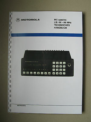 Motorola MC spectro Service Manual - Storno CQM6330 Publication No: 68P84836D03