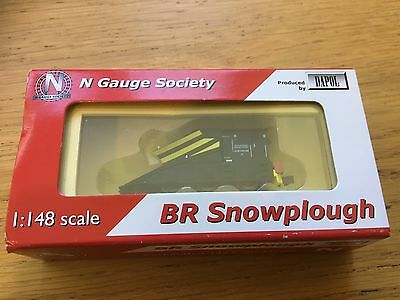 N Gauge Society / Dapol NGK42-5 Snowplough BR Black 2mm