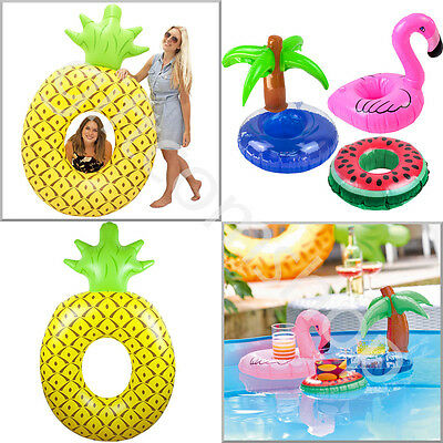 Talking Tables Inflatable Pineapple Swimming Pool Float Inflatable Drinks Holder