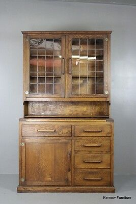 Early 20th Century Triumph Oak Kitchen Cupboard