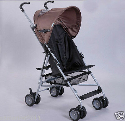 Coffee Security Collapsible Multi-Purpose Baby Carriage/Baby Stroller  !@&