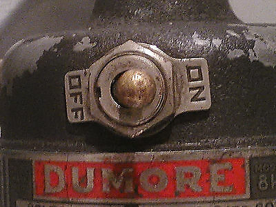 DUMORE MODEL 8H - 18,000 rpm HAND GRINDER ROTARY TOOL