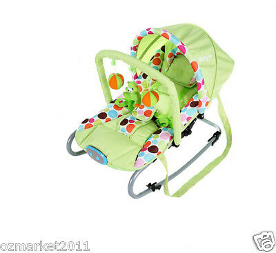 Fashion Security Green Comfortable Baby Swing Chair/Baby Rocking Chair JY