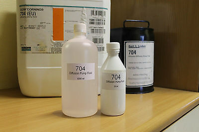 Dc-704 High Vacuum Silicone Diffusion Pump Oil / Fluid 1000 Ml
