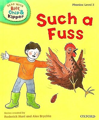 Such a Fuss | Biff Chip Kipper | Children's book | Phonics | Level 2 | New