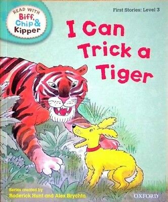 I Can Trick a Tiger | Biff Chip Kipper | Children's book | Phonics | Level 3|New