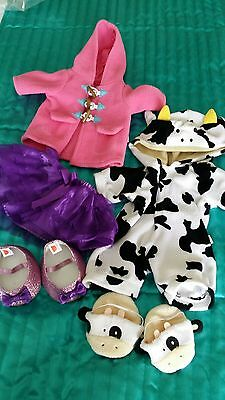 Chad valley design a bear  outfit, clothes, bundle