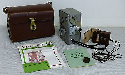 The Vintage MILLER CINE Standard 8mm CAMERA....Model CA.