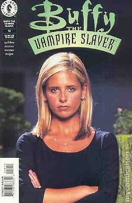 Buffy the Vampire Slayer Magazine #12B Gold limited edition signed 1999 COA