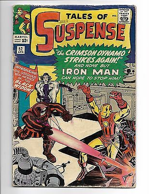 Tales Of Suspense 52 (1964)~1st Black Widow appearance~Iron man SCANNED Crimson
