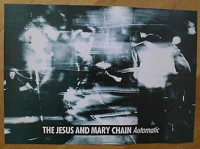 THE JESUS AND MARY CHAIN automatic vintage poster