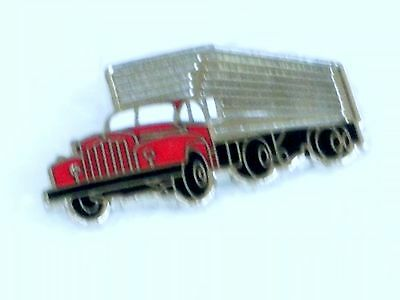 Mack Truck B Model Semi Pin/ Badge  Size 1  1/4 In. In. With Tack & Clutch