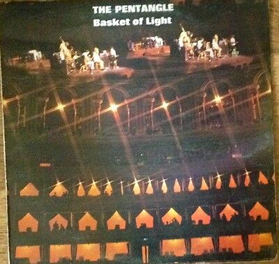 The Pentangle, Basket Of Light vinyl LP, Transatlantic, 1969, gatefold sleeve