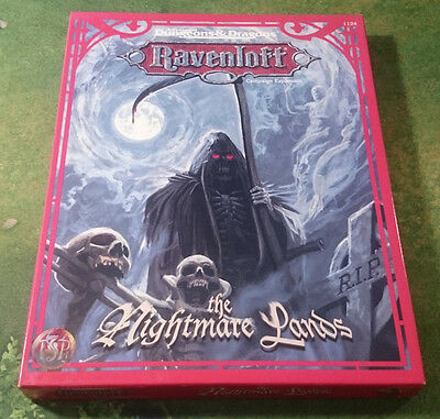 The Nightmare Lands | Ravenloft | AD&D 2nd | Boxed | TSR1124