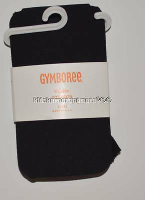 Gymboree Uniform Shop 4 Tights Solid Black