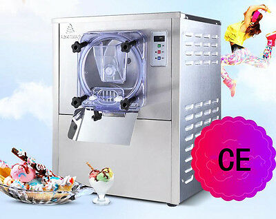 CE Commercial Hard Ice Cream Machine 20L/h Stainless Steel Ice Cream Maker 220V