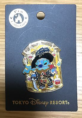 Tokyo Disney land Japan Lilo & Stitch Pirates of the Caribbean Pin Free shipping