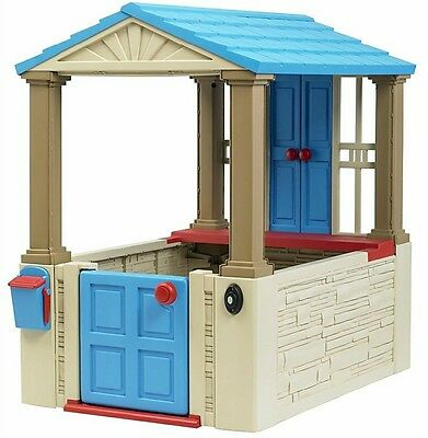 My First Play House American Plastic Toys Playhouse Fort Kids Outside Playground