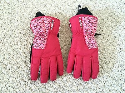 THINSULATE waterproof pink & black insulated winter gloves oxylane