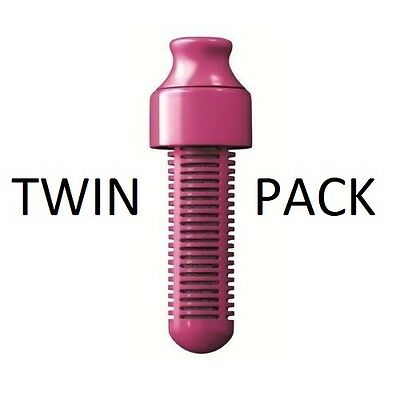 TWIN PACK Genuine Replacement Filter Water Bobble Magenta Pink #BargainTrend