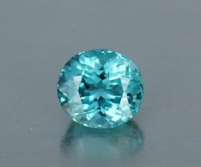 1.35 Ct FLAWLESS Brazilian Blue Natural Paraiba Tourmaline Gemstone 7 x 6 x 5mm