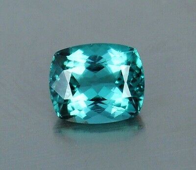 2.35 Ct FLAWLESS Brazilian Blue Natural Paraiba Tourmaline Gemstone 9 x 7 CHEAP