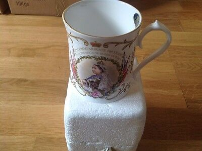 Aynsley Mug To Commemorate 100 Years since the Reigh of Queen Victoria 1901-2001