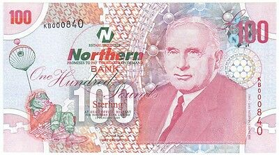 Northern Bank Ltd,  £100 Dated 2005 In Perfect Uncirculated Condition