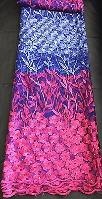 African Lace Fabric (5 Yard)