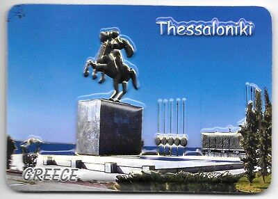 Greece Souvenir Fridge Magnet - Thessaloniki 9.5cm X 6.5cm