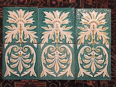 Antique Minton tiles
